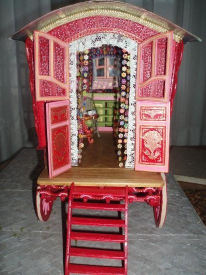 Amazing handmade gipsy trailer!