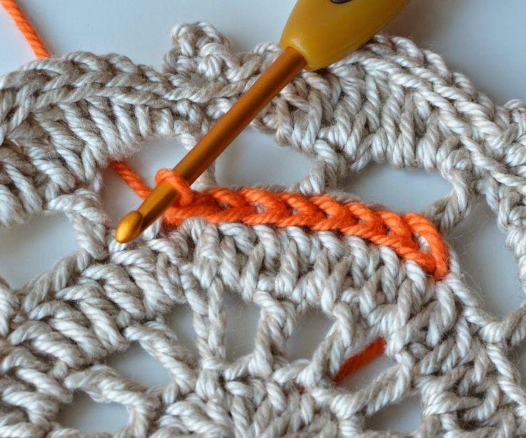 Mejores 344 imágenes de Crochet en Pinterest | Puntadas, Patrones de ...