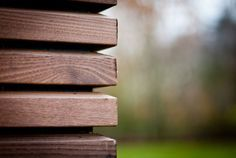 Gevelbekleding hout thermo (thermisch behandeld)