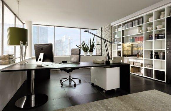 Modern Home Office Ideas ~ Home Designs