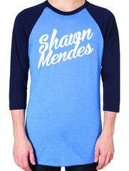 Shawn Mendes Baseball Tee