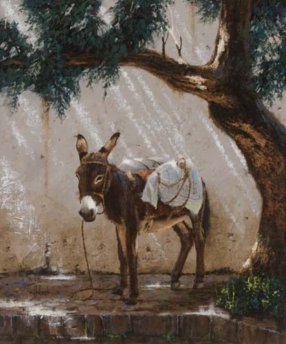 Sombra by George Hallmark Oil ~ 24 x 20 ... Oh, how I would like to own this!!!