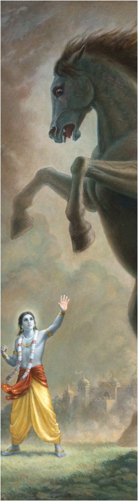 BHAGAVAD GITA {16 , 16 } अनेकचित्तविभ्रान्ता मोहजालसमावृताः। प्रसक्ताः कामभोगेषु पतन्ति नरकेऽशुचौ॥ Bewildered by many fancies, entangled in the net of delusion, addicted to the enjoyment of sensual pleasures, they fall into a foul hell. (16.16)
