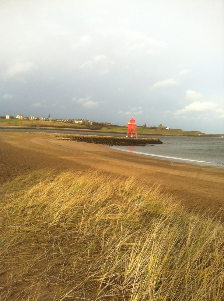 The Groyne at South Shields beach.
