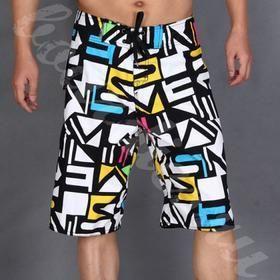 Купить длинные шорты для плавания мужские