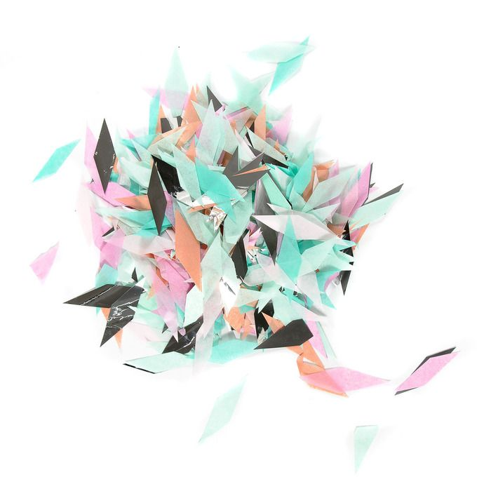 Custom Confetti #luvocracy #party
