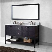 "Found it at Wayfair - Winterfell 60"" Double Bathroom Vanity Set with Mirror"