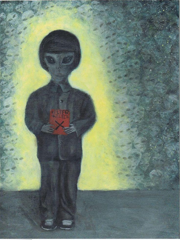 alien painting