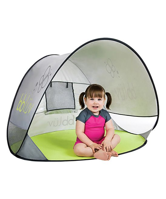 Help keep your kiddo safe from the sun while playing with this tent designed to block UVA and UVB rays, sand and wind. The pop-up system makes folding and unfolding simple and the carrying bag lets you take this tent wherever you go.Includes tent, carrying bag and three poles35'' x 47'' x 33''PolyesterImported