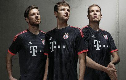 FC Bayern München 2015/16 adidas Champions League Kit