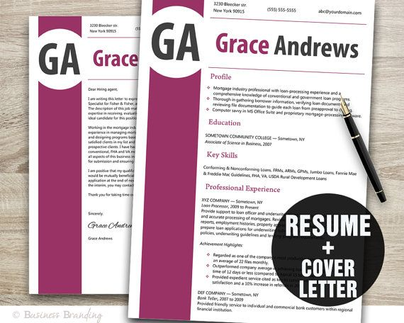 11 best Resume images on Pinterest Cover letter for resume - resume cover letter templates word