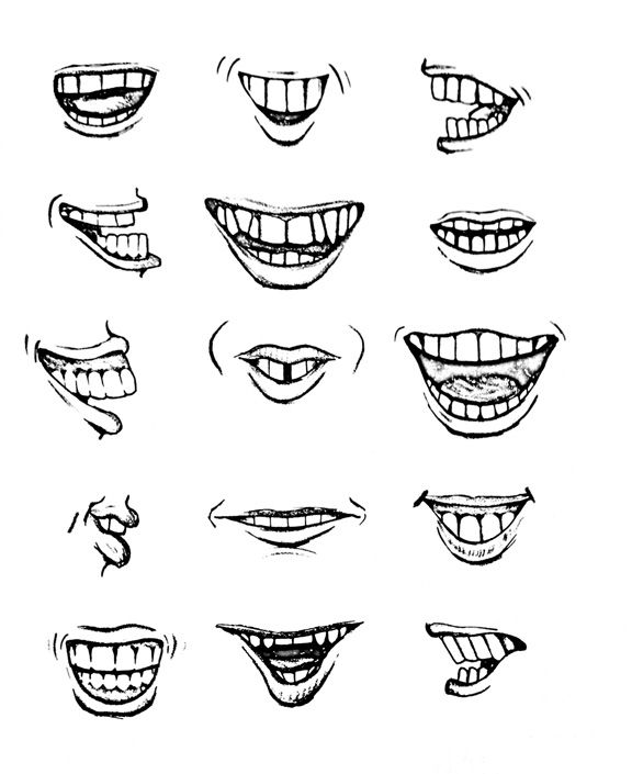 Picasso on teeth positions