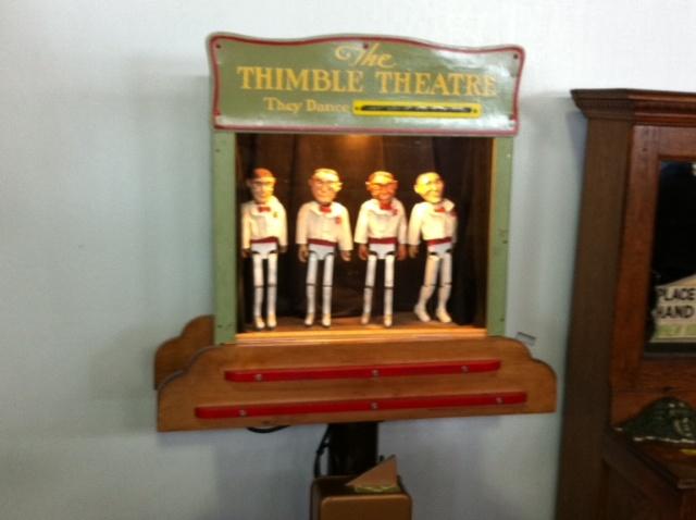 Mechanical Museum dancer arcade game.