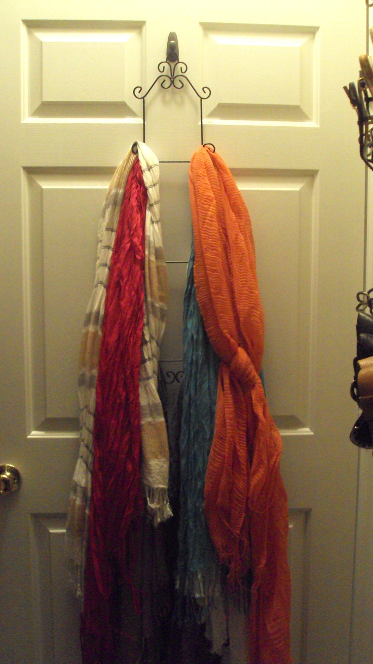 25+ unique Hanging scarves ideas on Pinterest | Organizing ...