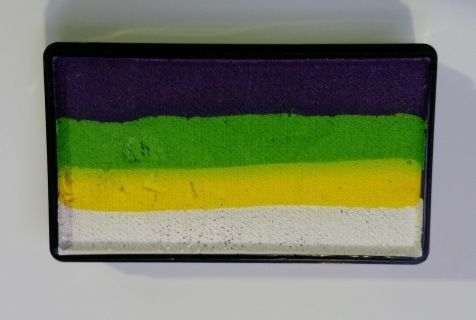 Cameleon Colourblock / one stroke PUNKY DEBZ. Great vibrant cake.