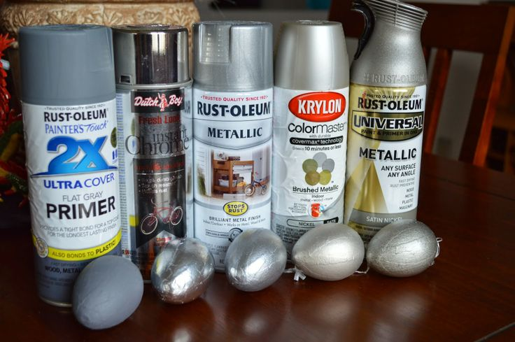 Comparing Brushed Silver Spray Paints Vermillion Home
