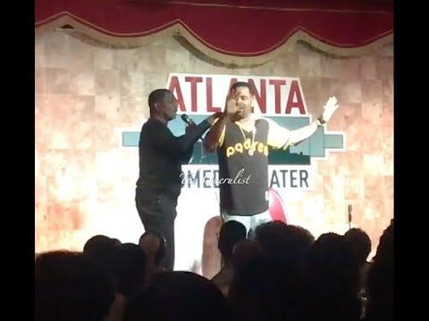 "Pinky ""Surprises Mike Epps On Stage  And Re-enact His Funny Say It Again Friday Movie Scene Live"" - YouTube"
