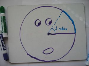 An explanation (on the student's level) of why we use radians, instead of degrees, in trigonometry and beyond.