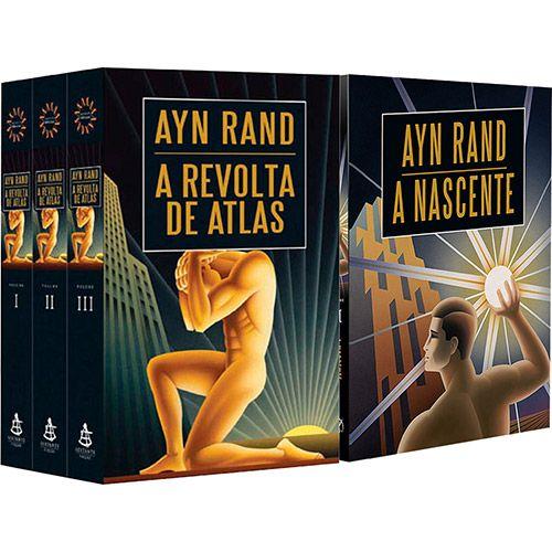 Kit Livros - A Nascente + A Revolta de Atlas (2 Volumes)