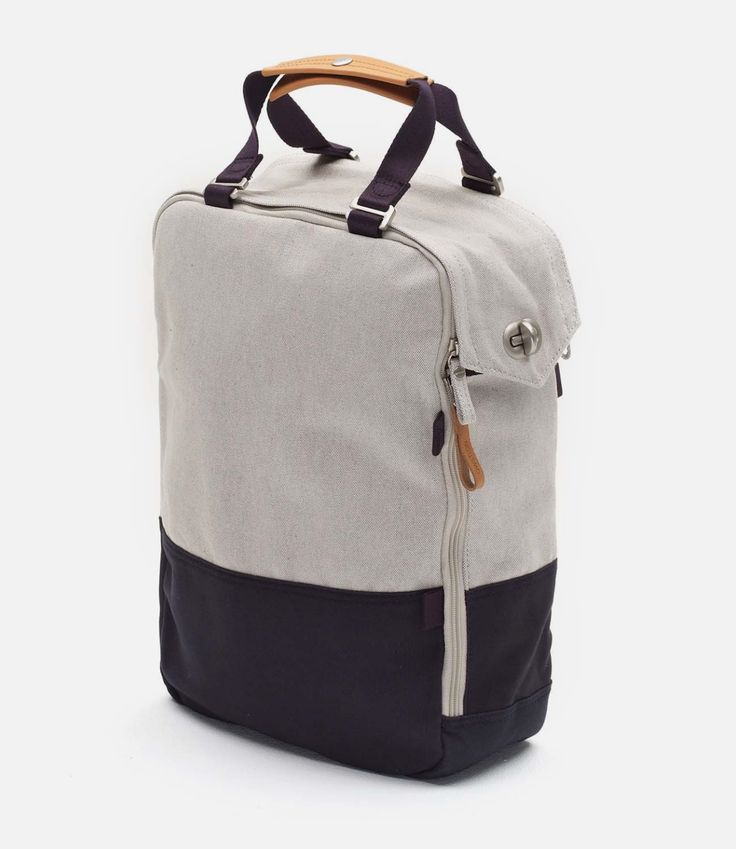 QWSTION DAYPACK ORGANIC NAVY DUOTONE
