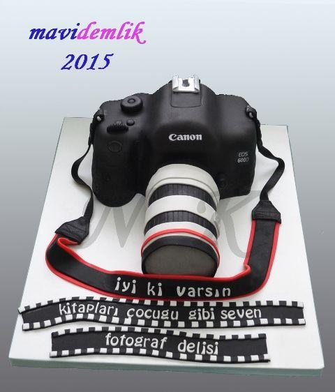 mavi demlik mutfağı- izmir butik pasta kurabiye cupcake tasarım- şeker hamurlu-kur: 3D CANON 600d FOTOĞRAF MAKİNESİ DOĞUM GÜNÜ PASTASI...