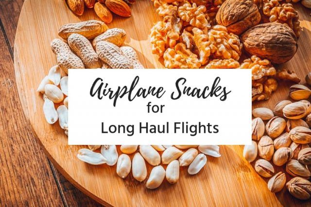 Delicious Airplane Snacks For Long Flights Airplane Snacks Snacks Homemade Trail Mix
