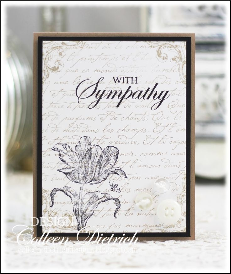 97 Best Images About Sympathy Card Ideas On Pinterest