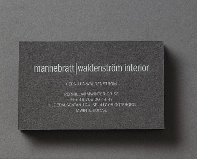 Atmosfär: Brand Identity for MW Interior