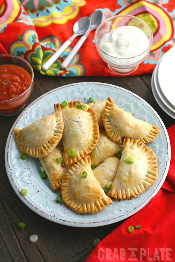 Mushroom and Black Bean Empanadas are so easy to make and a great dish to share!