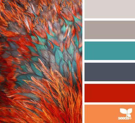 Seed colour board #range #designs