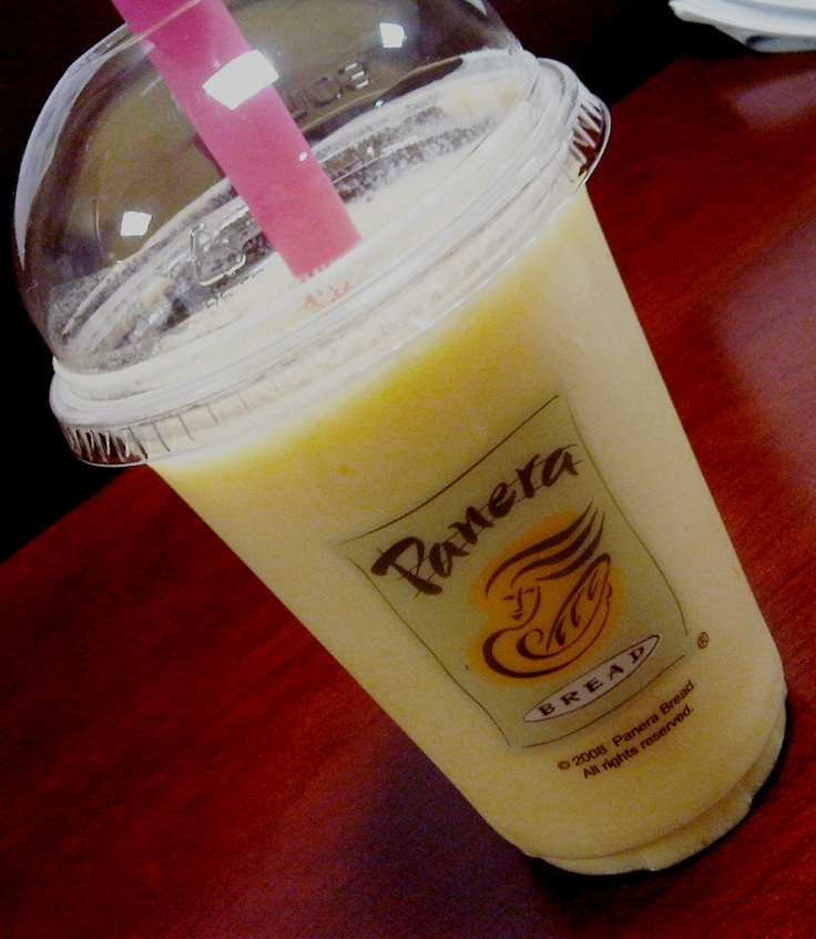 Mango Smoothie...my three kids and I are addicted.  If Panera was any closer we'd be broke