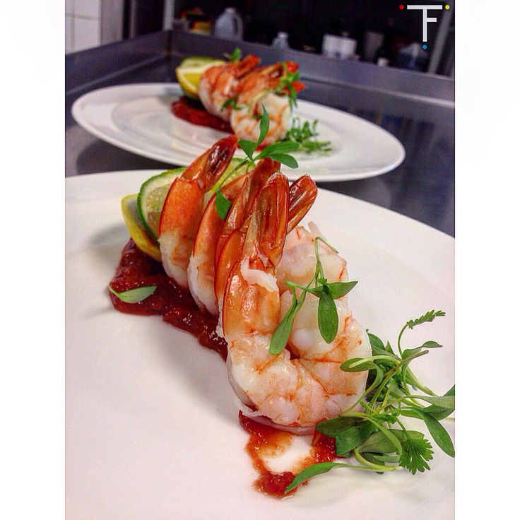 """""""Shrimp Cocktail"""" :: #chef #cheflife #seafood #simplicity #foodporn #instafood #healthyeats #cleaneats #flyfortune #shrimp #lcb #balharbour"""
