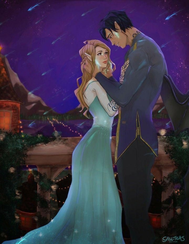 Starfall By The Amazing Sallteas Feyre And Rhysand Feysand Acotar