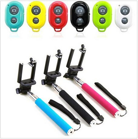 Go pro Extendable Wireless Bluetooth Handheld Monopod + Remote Control - free shipping worldwide