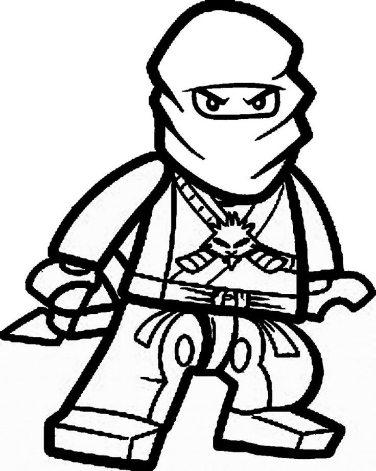 ninjawarriorcoloringsheetprintable  ninjago