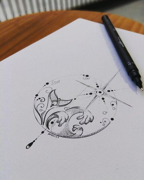 Best 11 fishman mandala tattoo design by Benz.Tattoo #Mandalatattoo – SkillOfK… – Tattoo Inspiration