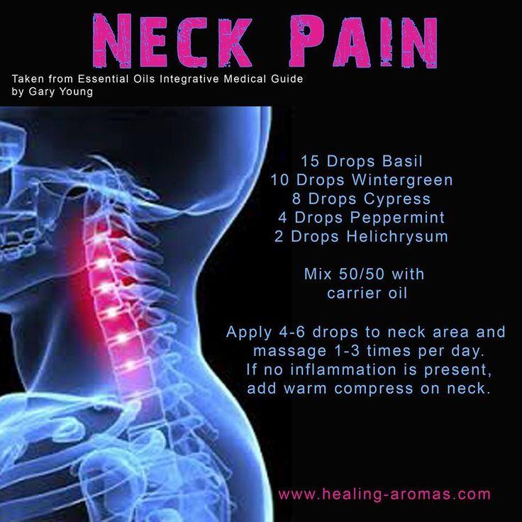 Neck pain by HealingLotus Aromatherapy