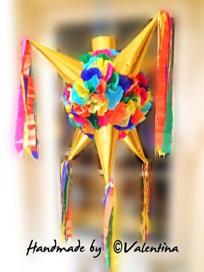 Star Pinata! Stern Pinata Pinata de 7 picos! Hi everyone, :) Like us! :) You'll be getting awesome content and updates from our exciting projects ! https://www.facebook.com/valentina.pinatas.kunst http://de.dawanda.com/shop/valentinaPinatas
