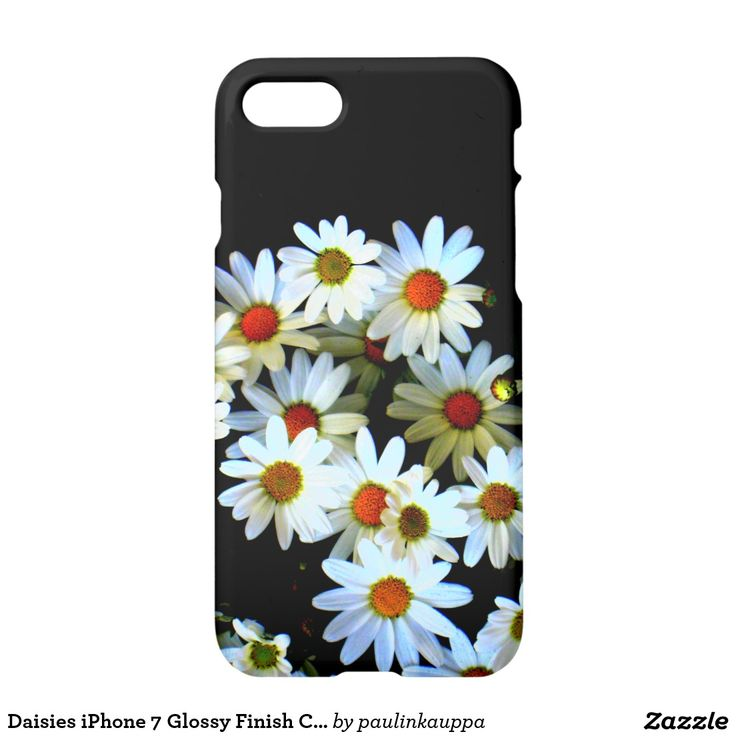 Daisies iPhone 7 Glossy Finish Case