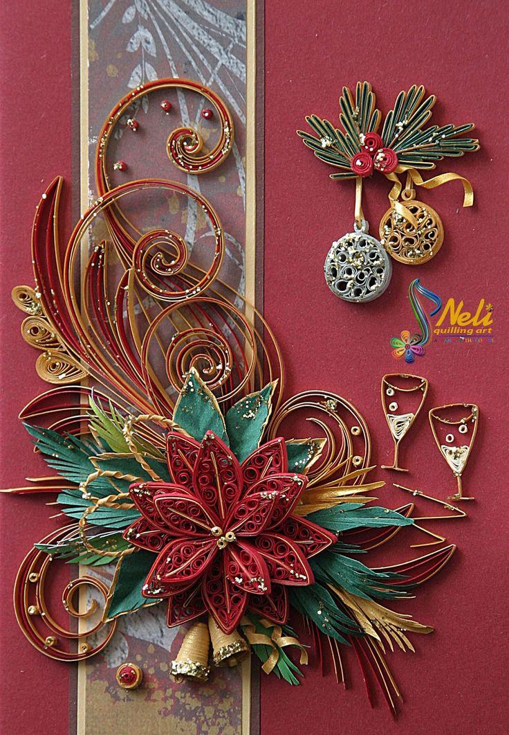 Нели Quilling Art: Подготовка к Рождеству _ # 1