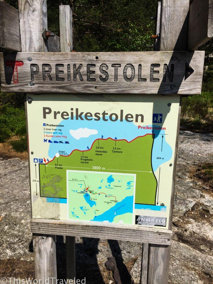 A DAY HIKE TO PREIKESTOLEN (PULPIT ROCK) NEAR STAVANGER, NORWAY