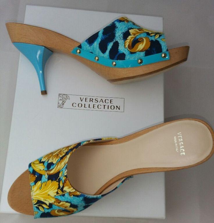 Sandales sabot Versace : Coups de Coeur : Achetez des articles de luxe neufs certifiés