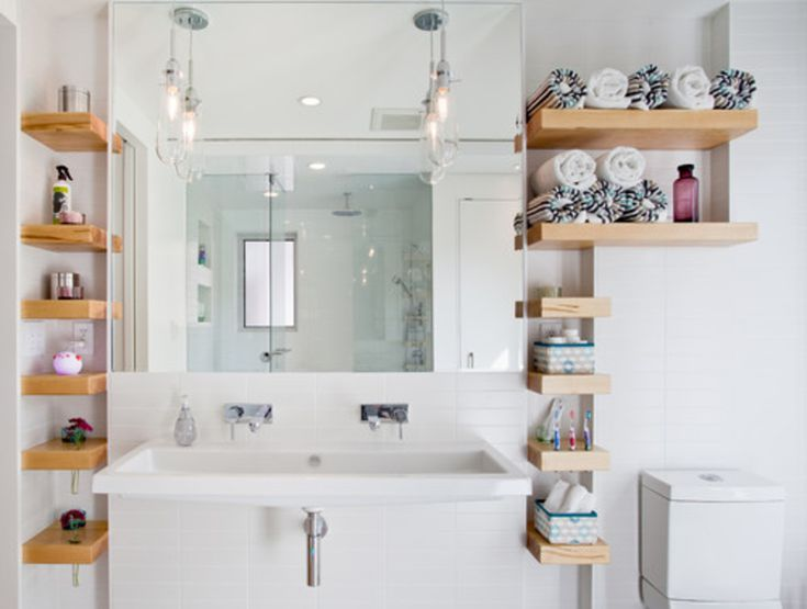 Get Your Bathroom Organized With These 15 Shelf Ideas Bathroom