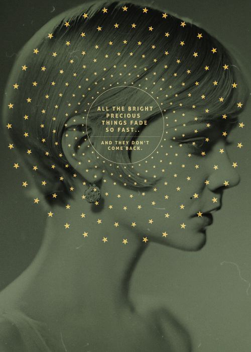 All the bright precious things... - The Great Gatsby