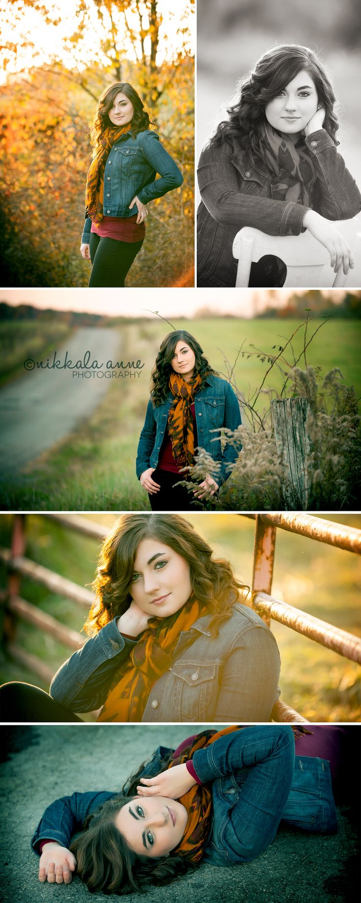 Autumn Senior | Samantha | Nikkala Anne Photographysenior girl photo session idea photography inspiration country farm
