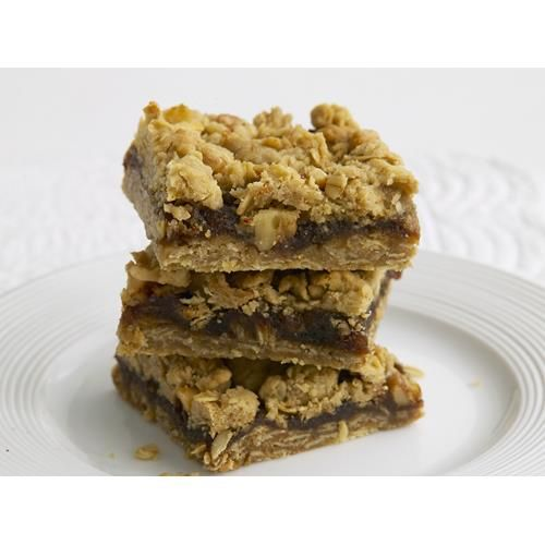 Date and oat crumble slice recipe - By Woman's Day, This delicious date slice is…