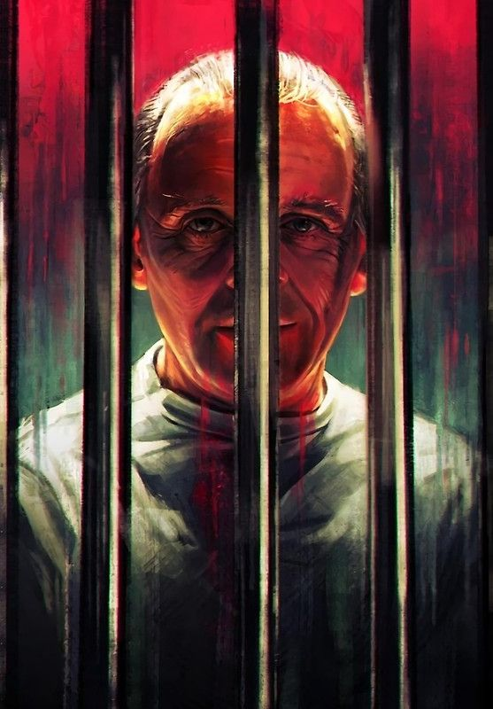 """Hannibal Lecter"" Postcards by Exide 