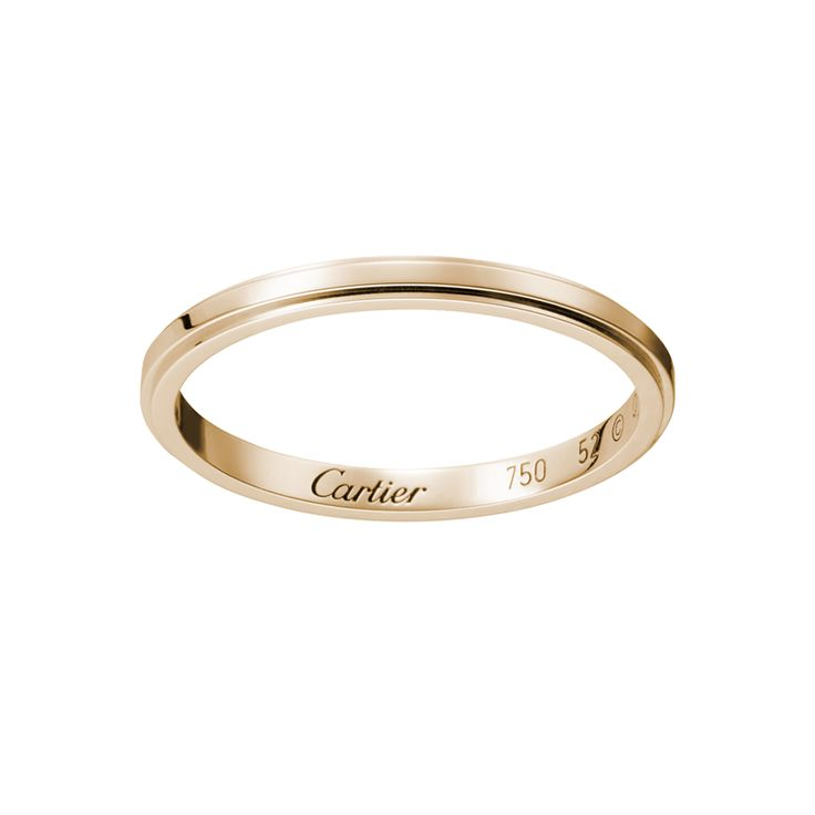Cartier D Amour Wedding Band Rose Gold Http Www