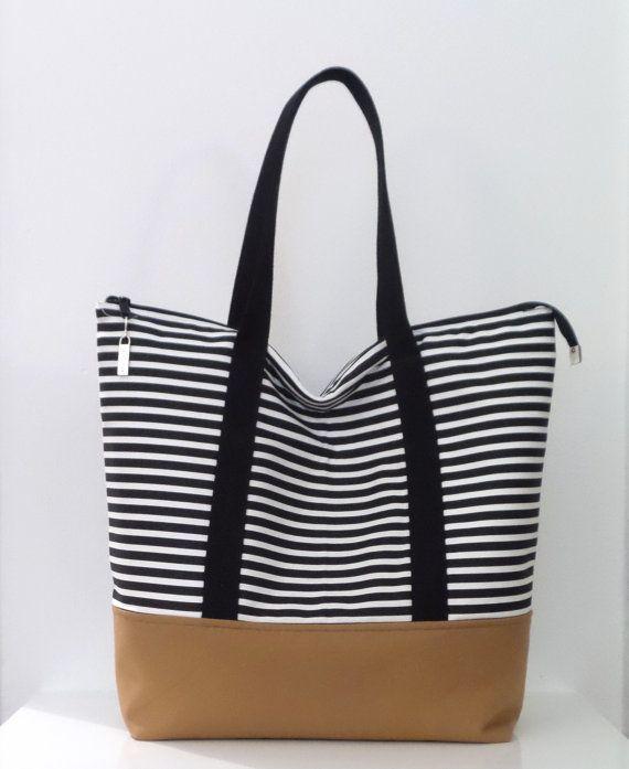 Best 25  Zippered tote bag ideas on Pinterest