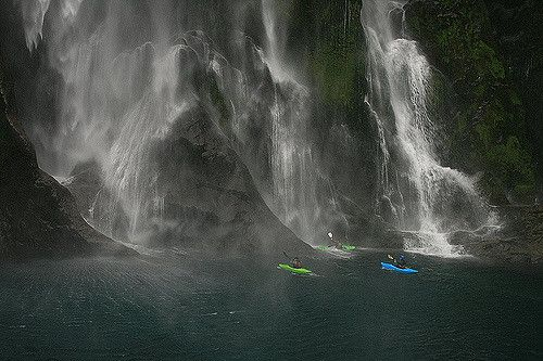 Sterling Falls - Milford Sound - New Zealand